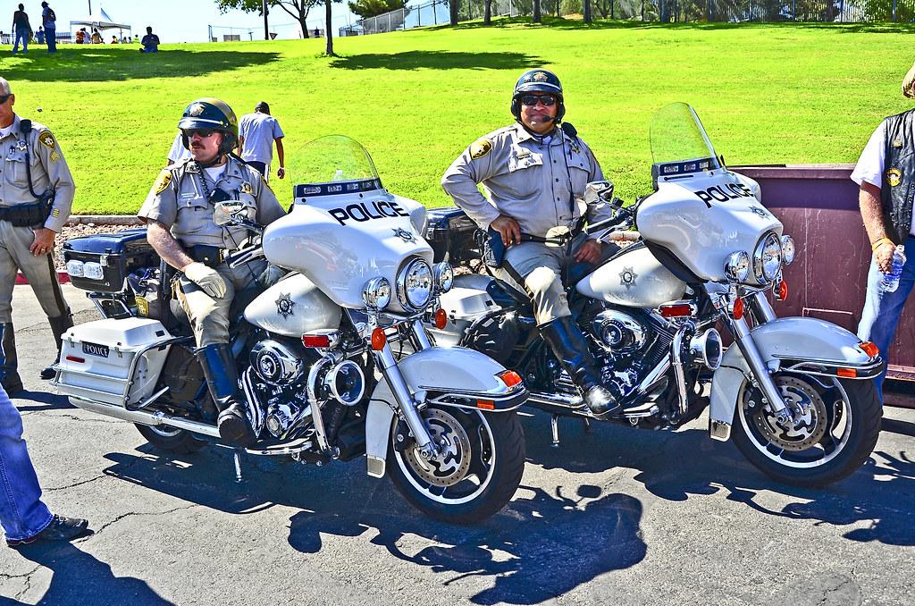 Las Vegas BikeFest at Cashman Center 2012 - Las Vegas Metropolitan Police