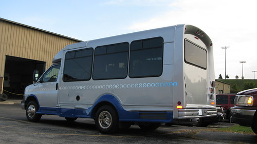 Recemtly acquired 2009 Chevrolet paratransit mini bus.  Glenview Illinois.  September 2012. by Eddie from Chicago