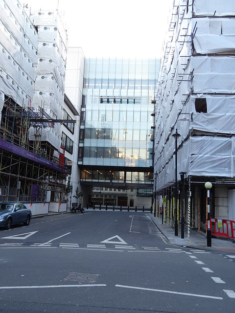 Modern Side (Egton Wing) of BBC Broadcasting House