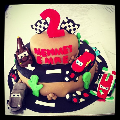 #carsbirthdaycake 2 by l'atelier de ronitte
