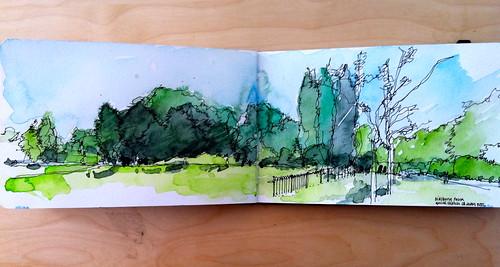 Didsbury Park by simoneridyard