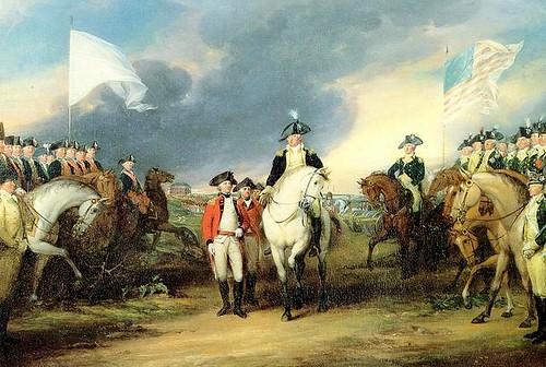 Surrender at Yorktown, 1781