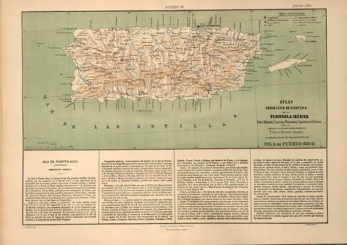 018-Isla de Puerto Rico-Atlas geográfico descriptivo de la Península Ibérica-Emilio Valverde-1880