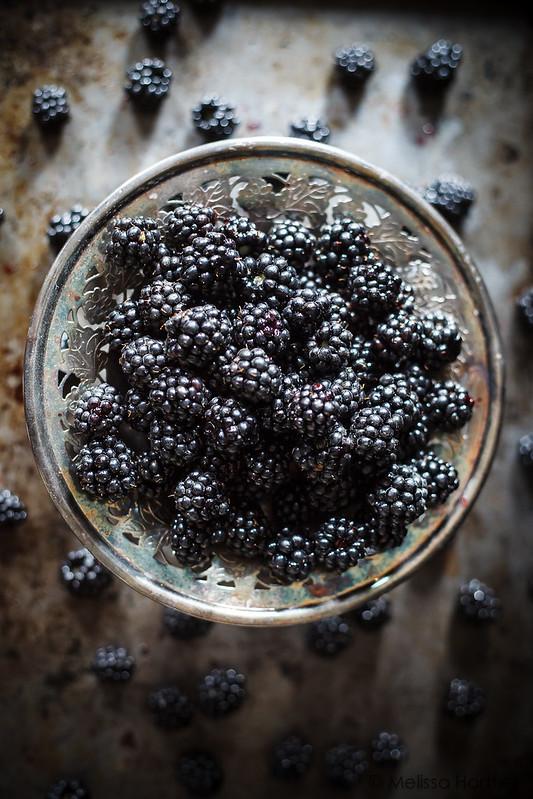 Blackberry pear galette with honeyed goat cheese eyes for Blackberry pear jam