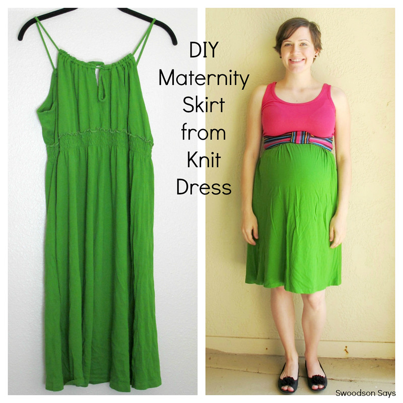 DIY Maternity Skirt 3