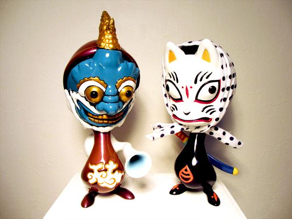 Yohei's Fūjin Skelve with Shigeta's Oinari Skelve