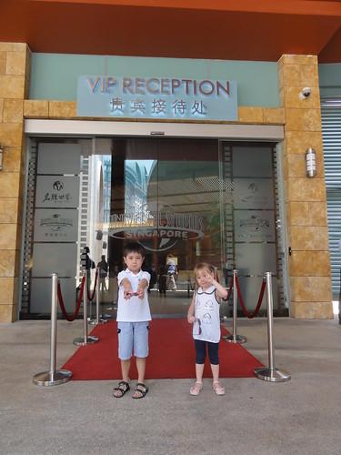 VIP Reception for Universal Studios Singapore