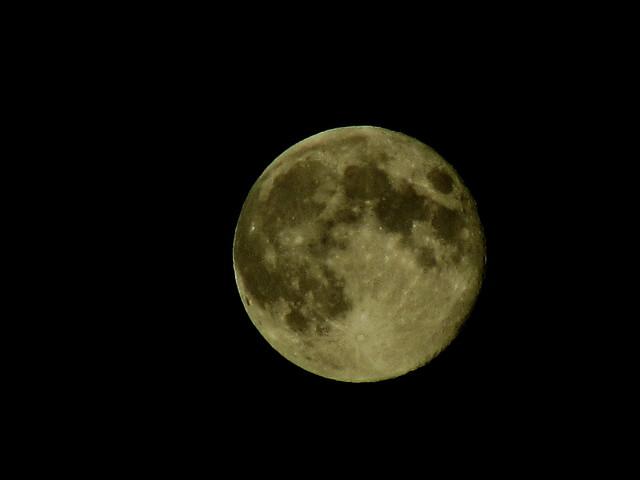 La luna fotograf�o