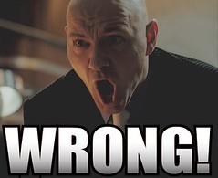 Lex Luthor hates M&Ms