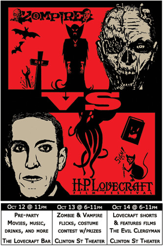 Zombies vs HP Lovecraft @ Clinton Street Theater