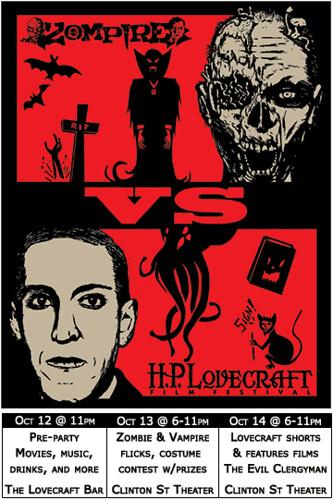 Win Tickets ($40): Zompire vs The HP Lovecraft Film Festival