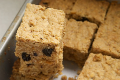 Blueberry-Hazelnut Oatmeal Cookie Bars