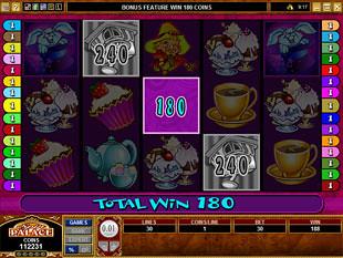 Mad Hatters Cuckoo Bonus Game