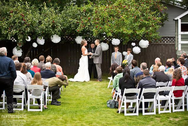 Backyard Wedding Ceremony  Prince George British Columbia?  Flickr