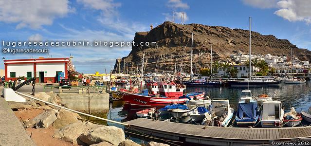 Pesqueros de Mogán (Gran Canaria, España)