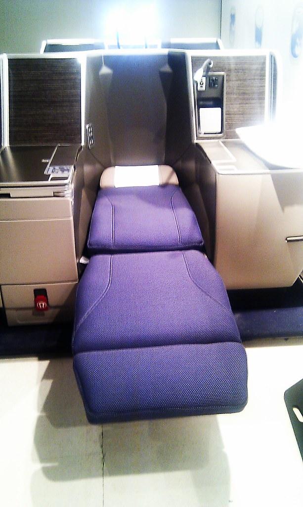 Butaca cama SN Brussels Airlines