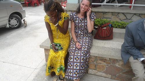 Me & Kadijah goofing off