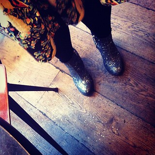 Apparently I leave a trail of glitter everywhere I go (photo by @sarahkane)