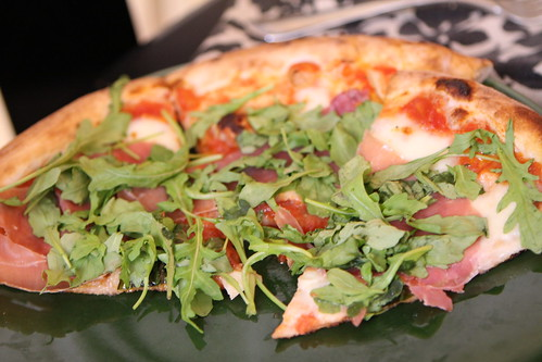 Prosciutto Arugula Pizza from Tarry Lodge