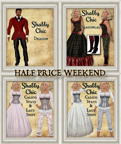 HALF PRICE WEEKEND by Shabby Chics