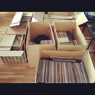 El punto de inflexión de toda mudanza: vaciar los discos (aunque tengan ubicación temporal...)