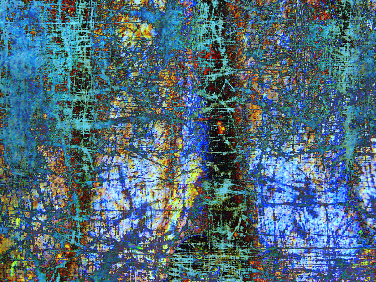 Abstract in Blues XXI