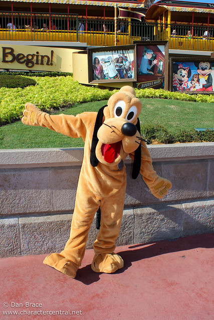 Meeting Pluto on his Birthday! :)