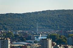 Vue sur Liège depuis Les Coteaux de la Citadelle