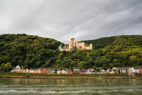castle river germany town historical rhine rhein touristattraction koblenz lahnstein stolzenfelscastle larigan phamilton