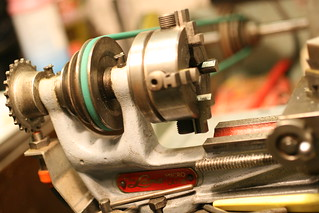 Lathe Belt Repair