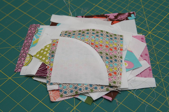 Quilting Template Drunkard S Path : STITCHED by Crystal: Tutorial: Quilting curves - The Drunkard s Path