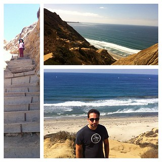 Great hike, epic views at Black's Beach, La Jolla. #latergram