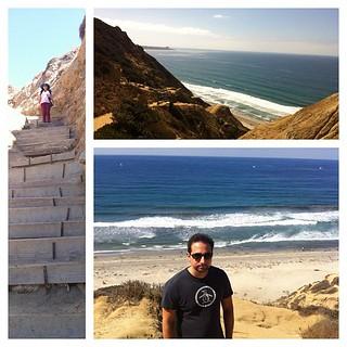 Great hike, epic views at Black's Beach, La Jolla. #latergram