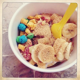 My first froyo from yogurt in.  It was awesomesauce. #vegas