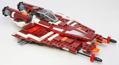 9497 Republic Striker-class Starfighter 8068999591_d1fe7cbe5b