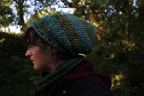 Greenspun Tam in the woods