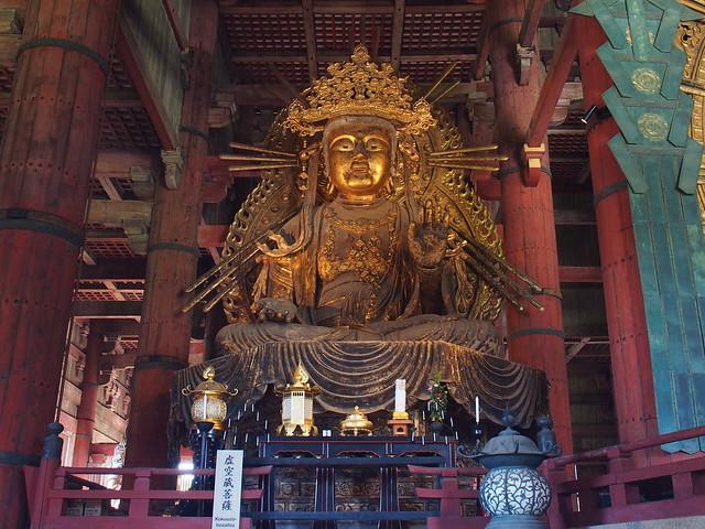 虛空藏菩薩坐像