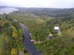 boathouse aerial
