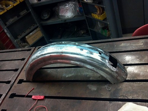 Welded fender