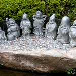 7 Lucky Buddhist Dieties - Daisho-In Temple, Miyajima