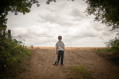 the boy and the field by mdx