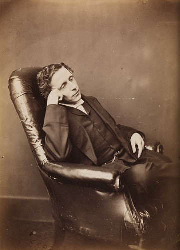 Charles Lutwidge Dodgson, c.1875.