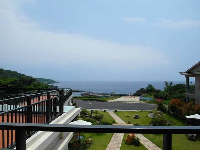 從下午茶區看出去的天空海闊