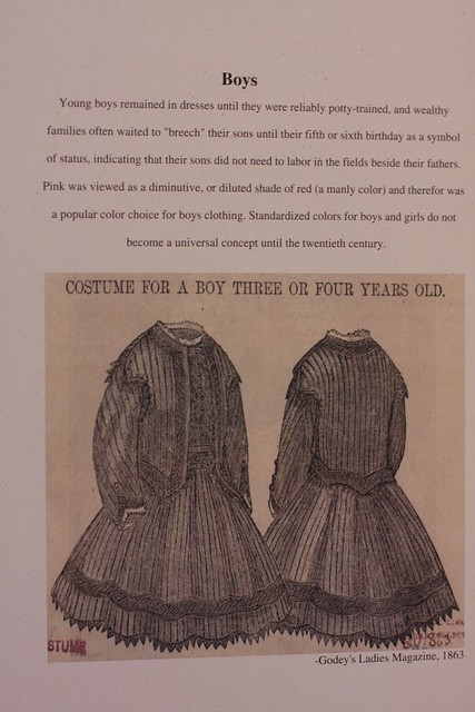 boy's dress info-End of the Oregon Trail Interpretive Center