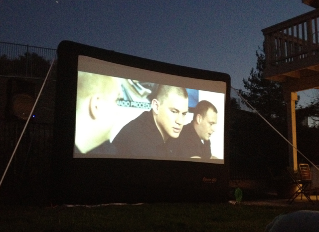 Outside Movie Night