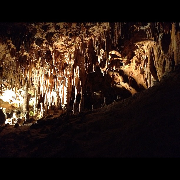 Visited the amazing Luray Caverns today!