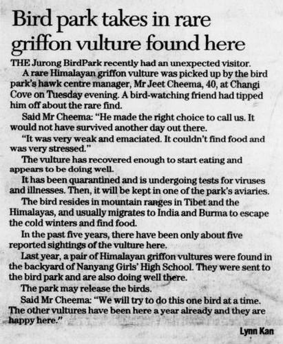 The Straits Times 29 January 2006