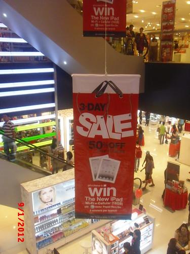 SM City Manila 3 Day Sale KNT 7