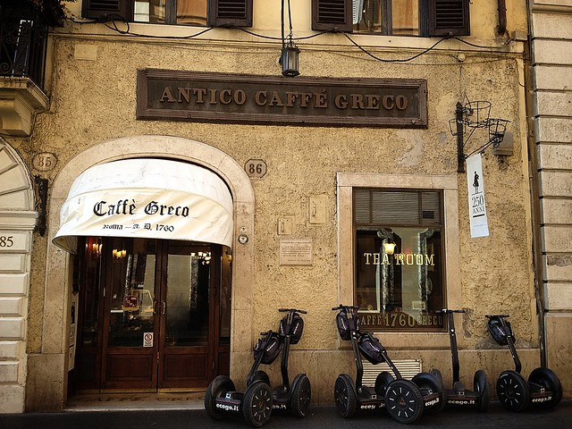 caffee, gunun kahvesi, kahve askina, coffee of the day, roma, rome, italy, tazza d'oro, sant'eustachio, caffe greco