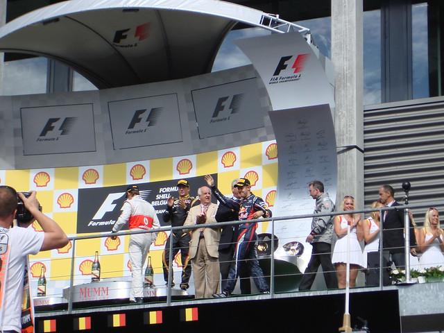 The podium 1
